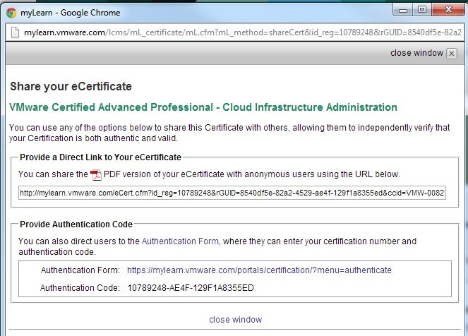 Show off your VMware Certification Status to the World! | SOSTech