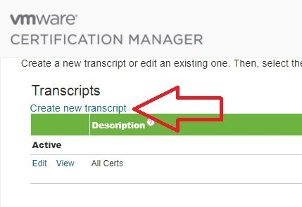 Get your VMware certification URL and PDFs | SOSTech