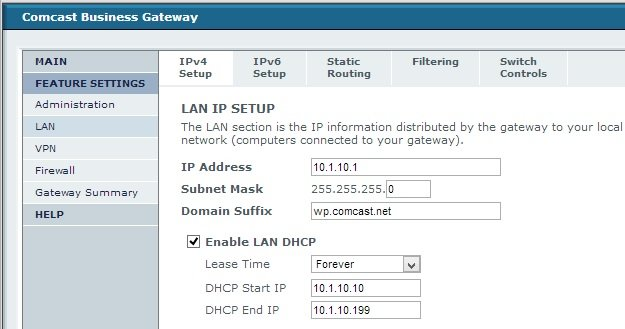comcast modem ip address - 625×329